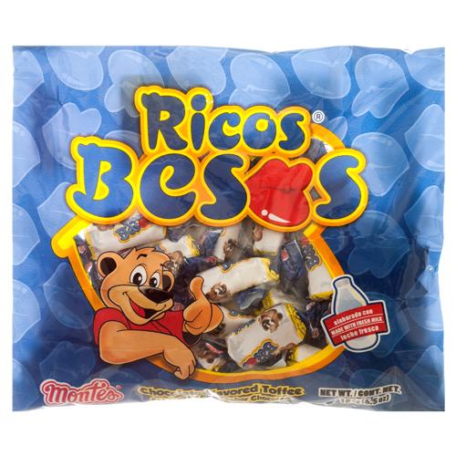 Ricos Besos Candy Montes Ricos Besos 6.5z 2y